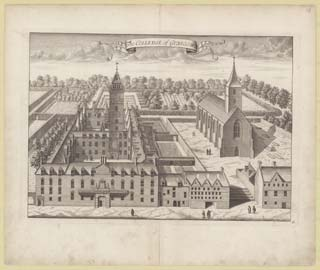 'The Colledge of Glasgow', John Slezer, 'Theatrum Scotiae', 1693.