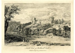 South View of Bothwell Castle