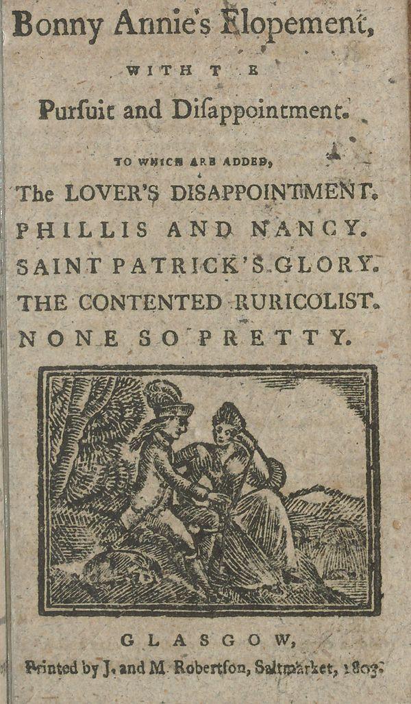 Scottish chapbooks now online! – National Library of Scotland Blog