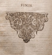 Detail from the First Folio