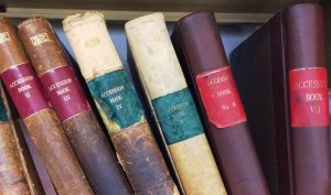 The Accession books of the Department of Archives and Manuscripts