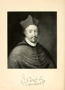 "Cardinal David Betoun, portrait in ""Liber S. Thome de Aberbrothoc"", Volume 2 (Edinburgh: 1848-56)"
