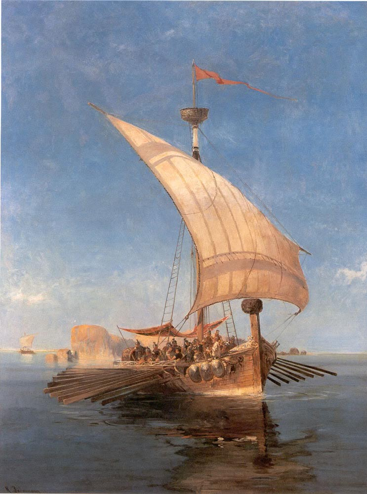 Argo by Konstantinos Volanakis. 19th century; Public Domain Image sourced from Wikicommons