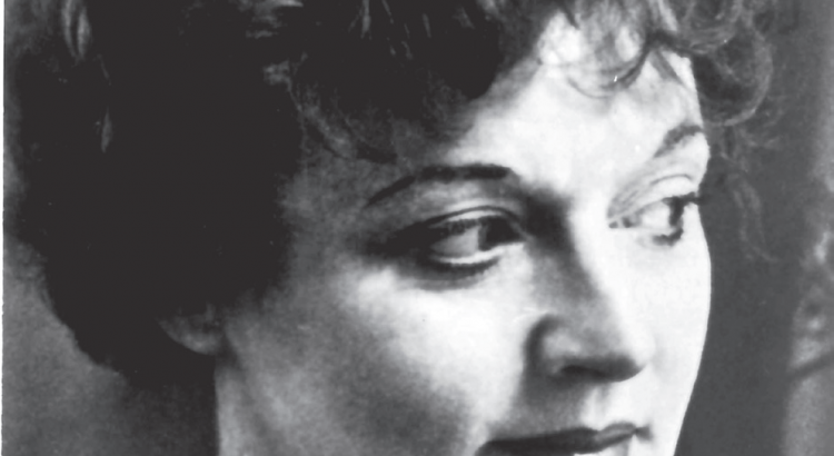Photograph of Scottish writer, Muriel Spark