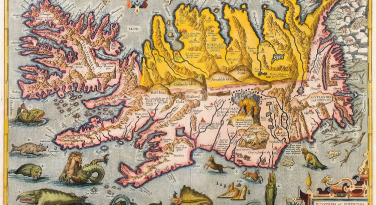 January Map of the Month: Sea creatures – National Library of